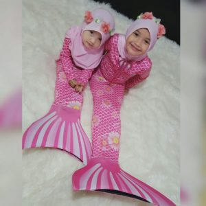 baju mermaid hijab